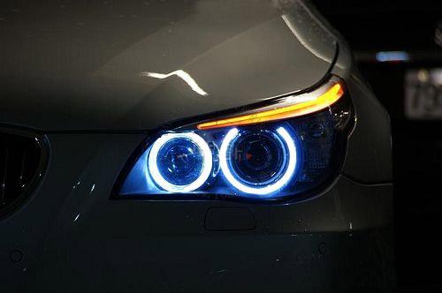 Led Ring Marker Light For Bmw E63 E64 Angel Eyes