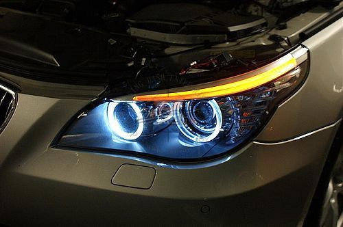 Led Ring Marker Light For Bmw E60 E61 E90 E91angel Eyes