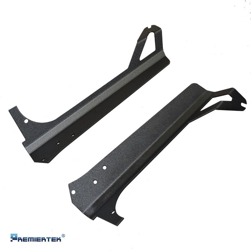 led light bar steel mounting brackets for jeep tj wrangler 97 06 9000. Black Bedroom Furniture Sets. Home Design Ideas