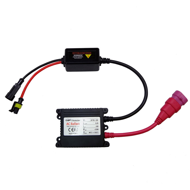 Slimline Ballast Wiring Diagram: GP Thunder AC Slim Ballast For HID Light Kit Replacement