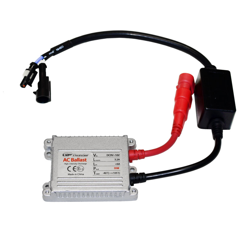 Slimline Ballast Wiring Diagram: GP-Thunder DC Slim 35W Ballast For HID Light Kit