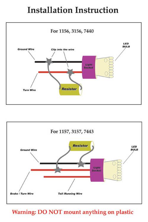 LED Load Resistor KitLED Load Resistor Kit